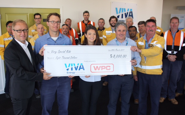 Image 1 Viva Energy and WPC donation to Very Special Kids