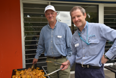 Image 2 Geelong Refinery Leadership Team cooked 1500 sausages