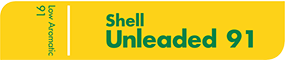 Shell Unleaded 91 Low Aromatic